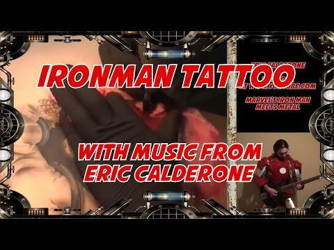 Tattoo IRONMAN meets METAL 331EROCK