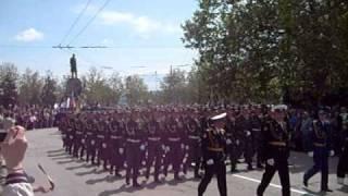 ВЧ 41760 Парад 9 мая Севастополь