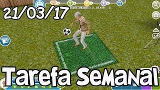 The Sims Freeplay: Tarefa Semanal [21-3-17]