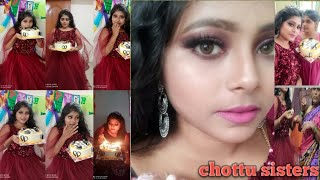 full day birthday celebration and makeup video
