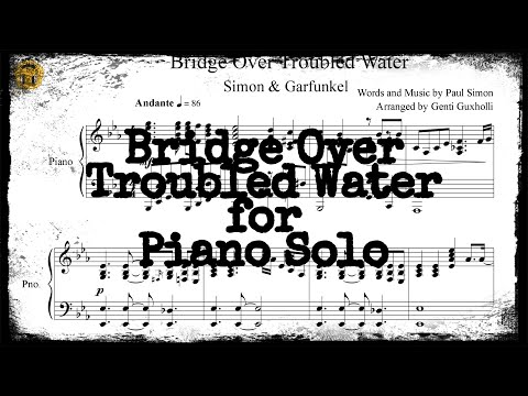 Bridge Over Troubled Water (Piano Solo/Sheets)