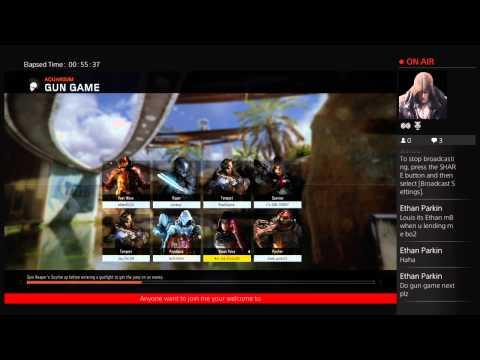 Nut-Job_Krazy166's Live Black Ops 3 Gameplay