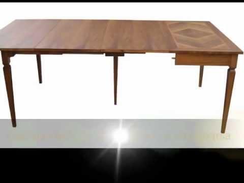 Produzione e realizzazione di tavoli a consolle classici e in ...
