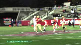 Half Hollow Hills West vs East Islip Suffolk County Championships 2014 D2 Football