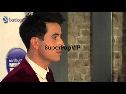 Nick Grimshaw at Barclaycard Mercury Music Prize 2012 at ...