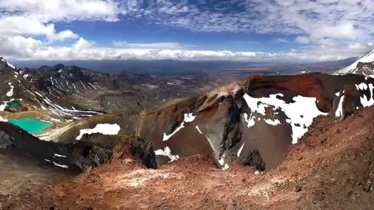 Tongariro National Park, New Zealand - YouTube