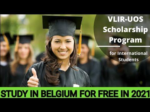 STUDY IN BELGIUM FOR FREE THROUGH THE VLIR-UOS SCHOLARSHIPS PROGRAMME 2021/2022 |