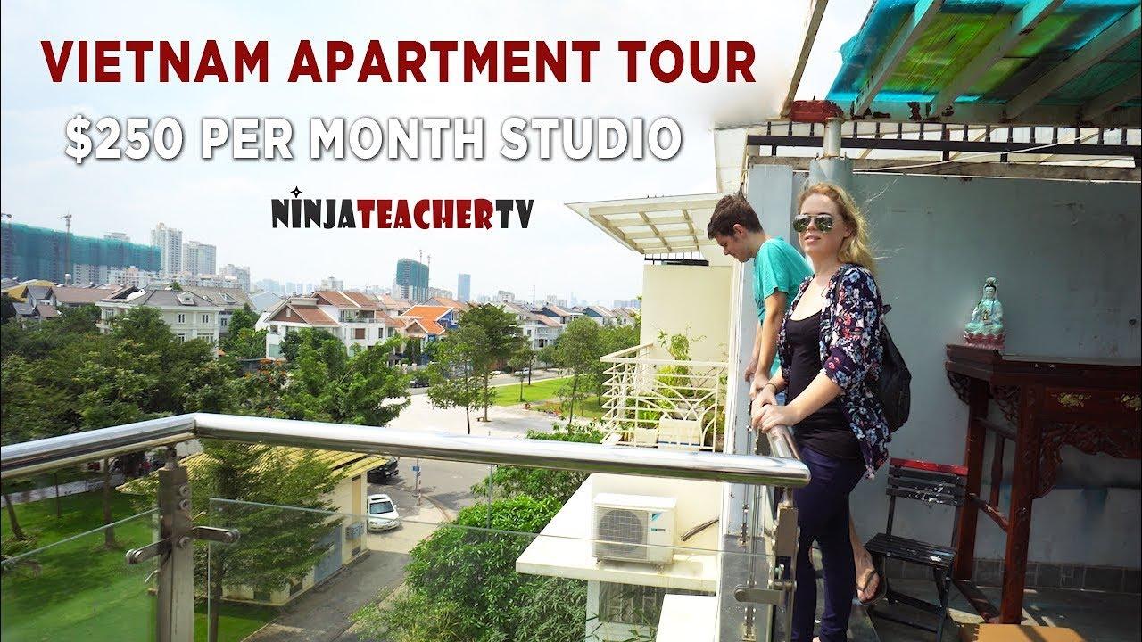 Vietnam Apartment Tour 250 District 7 Studio Ho Chi Minh City