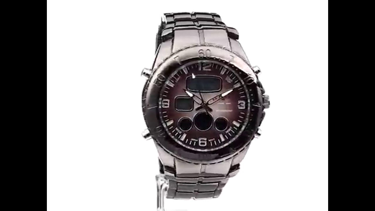 b72b6b81a9a Relógio de Pulso U S Polo Assn Sport Gunmetal Masculino - YouTube