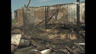 5 человек погибли в пожаре под Красноярском
