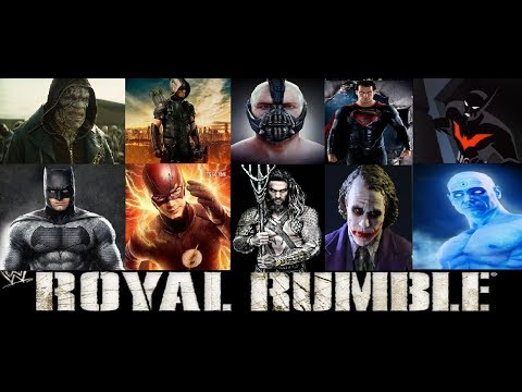 WWE 2k17 DC Comic Royal Rumble (Contest)