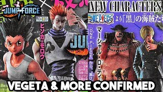 NEW JUMP FORCE HIDDEN VEGETA! NEW Jump Force Characters - Sanji & Black Beard SCREENS & SCANS!