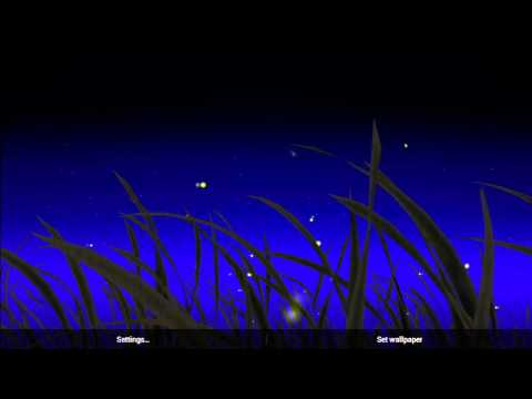 KF Fireflies Live Wallpaper