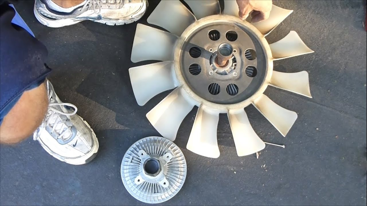 small resolution of how to replace a fan clutch