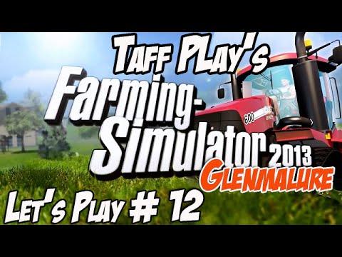 Taff Play's - Farming Simulator 2013 - Glenmalure #12 - Slip Slop Slurry!