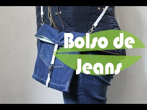 Bolso vaquero doovi - Como hacer bolsos con salvamanteles ...