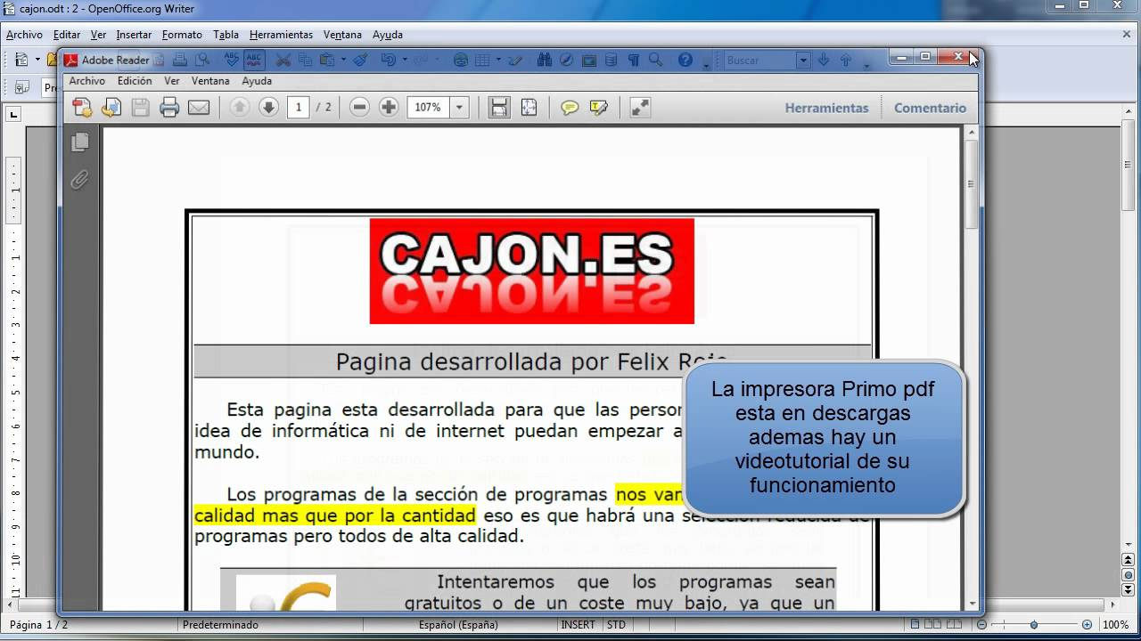 Convertir pdf en open office - Comment convertir un fichier pdf en open office ...