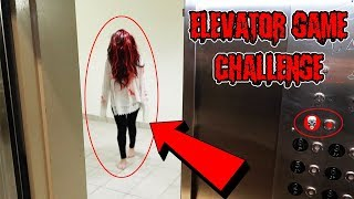 (GONE WRONG) DONT TRY THE ELEVATOR GAME CHALLENGE AT 3 AM OR SHE WILL COME (ELEVATOR GIRL IS REAL)