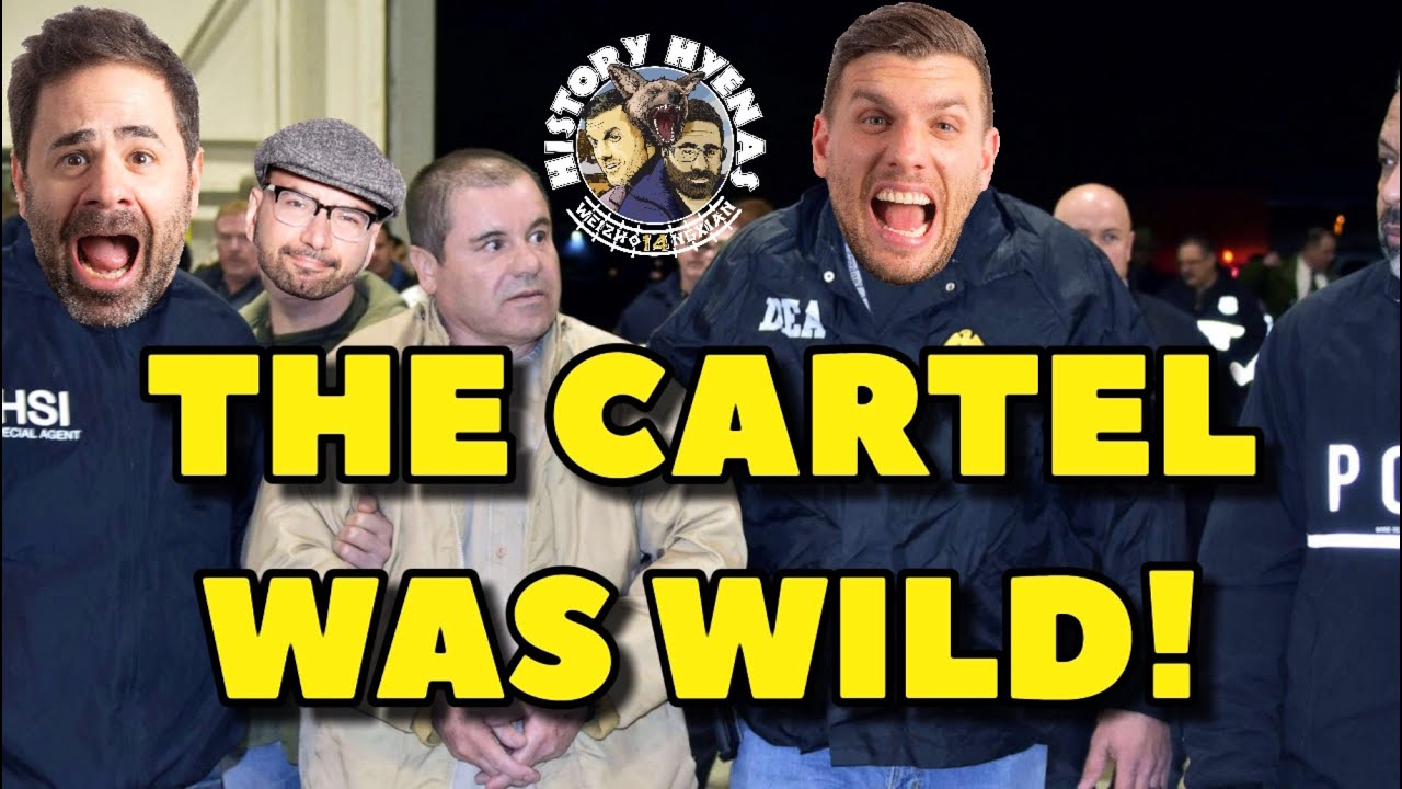 The Cartel was WILD! | ep 44 - History Hyenas