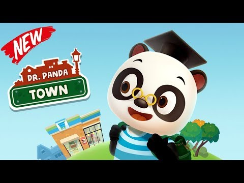Dr Panda Town Full Gameplay with Dr Panda - Educational iPad app for Kids | Dr.Panda