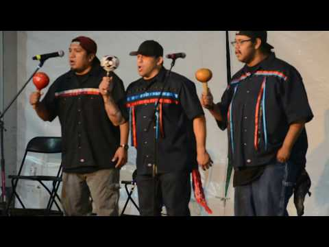 Spit Fire Singers - Fort Mojave 41st Annual Indian Days Bird Singing Contest
