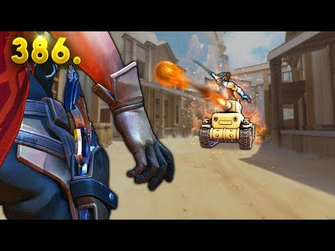 Longest Deflect Ever..?! | Overwatch Daily Moments Ep.386 (Funny and Random Moments)