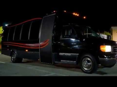 14 Passenger Party Bus Rental - Best Party Buses - Price 4 Limo