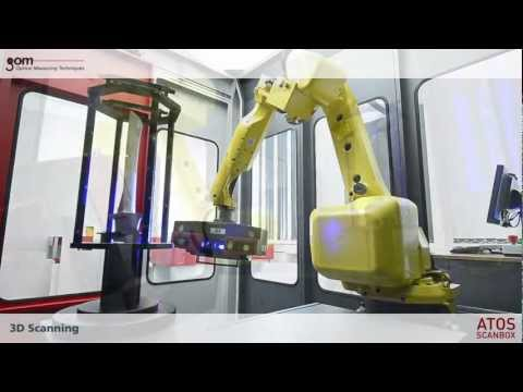 ATOS ScanBox Turbine Blade 3D Scanning & Inspection Automation