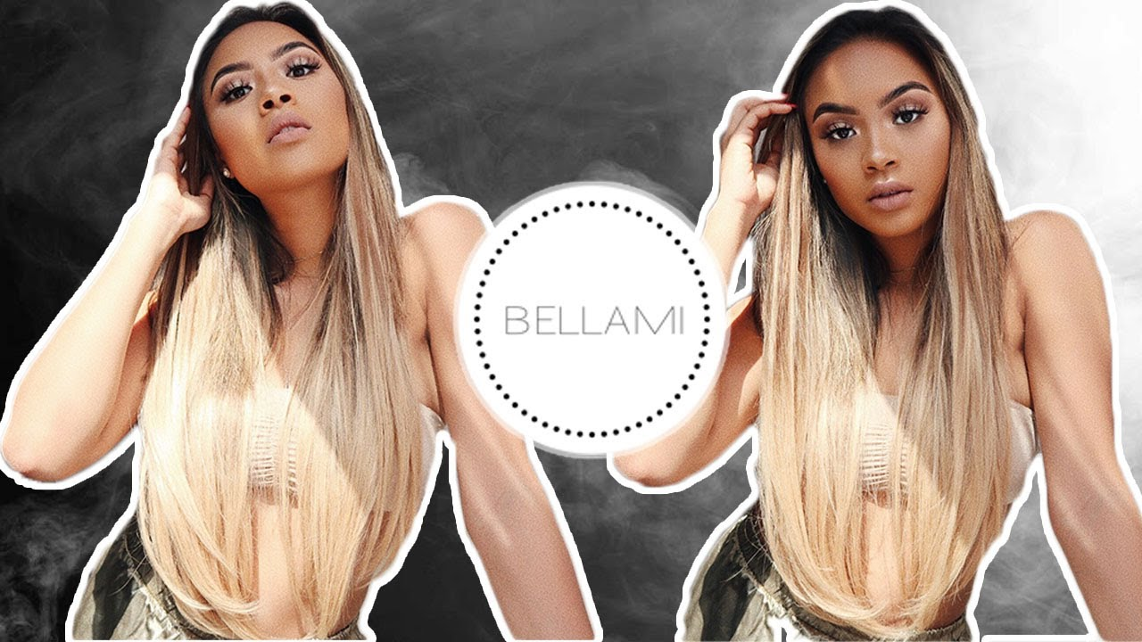 Hair Transformation Under 10 Minutes Nathalie Paris Bellami Hair