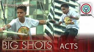 Little Big Shots Philippines: Josh | 11-year-old Flying Trapeze Boy