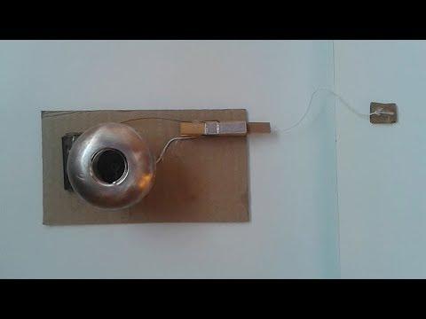 How To Make A Door Alarm   Simple - Theft Alert Alarm
