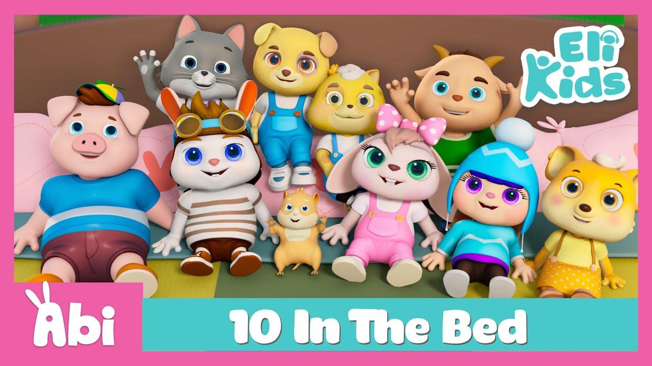 10 In The Bed +More   Eli Kids Educational Songs & Nursery Rhymes Compilation