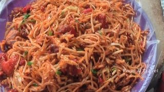 Chicket Noodles   Egg Fried Rice    Street Food Fast Food In India