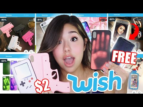 Unboxing CHEAP IPhone Cases From Wish!!!