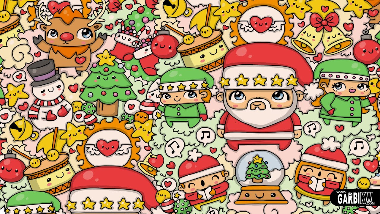 Merry Christmas - #Kawaii Graffiti and Cute Doodles by Garbi KW ...