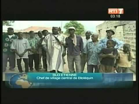 La visite d'Etat du Chef de l'Etat Alassane Ouattara à Man