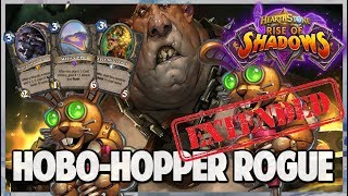 Hobo-Hopper Rogue | Extended Gameplay | Hearthstone | Rise of Shadows