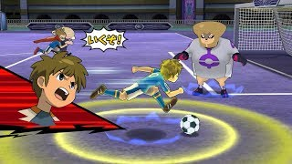 Inazuma Eleven Go Strikers 2013! Inazuma Japan Vs Destructchers Wii 1080p (Dolphin/Gameplay)