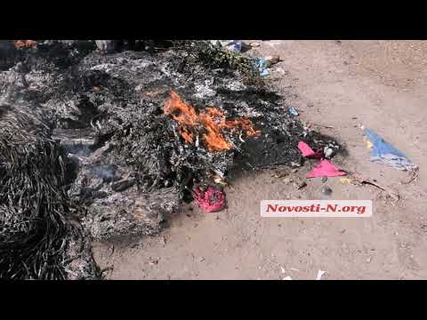 Новости-N: Видео Новости-N: Под Николаевом горит мусорная свалка
