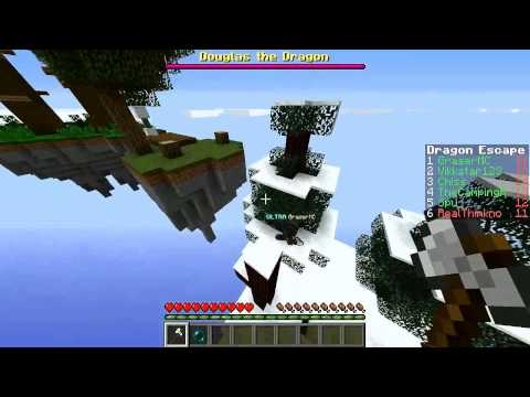 Minecraft DRAGON Escape #1 with Vikkstar123, TheCampingRusher, RealThinknoodles & Graser10 from YouTube · Duration:  10 minutes 50 seconds