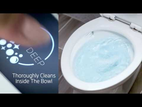 American Standard ActiClean™ Self-Cleaning Toilet