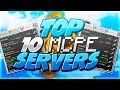 TOP 10 SERVERS IN MCPE! - Minecraft PE (Pocket Edition)