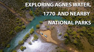 Exploring Agnes Waters, 1770 and nearby National Parks