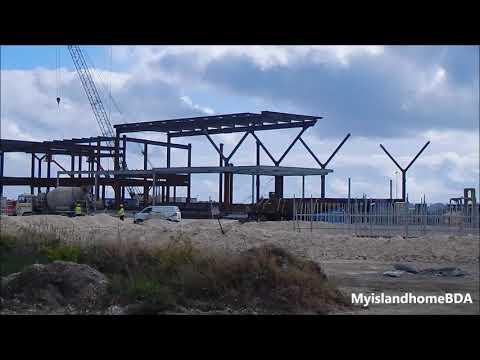 Bermuda's New Airport Terminal -  February 2018