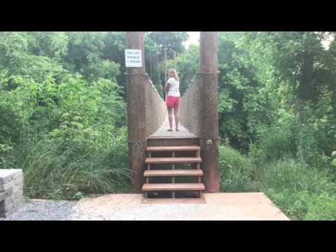 Broad River Swinging Bridge - Shelby NC