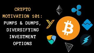 Crypto Motivation 101: Pumps & Dumps, Diversifying Investment Options