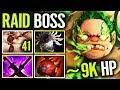 Jumping Techies HOOK - Forev Pudge 41 Flesh Heap & 9K HP Raid Boss in Healing Base