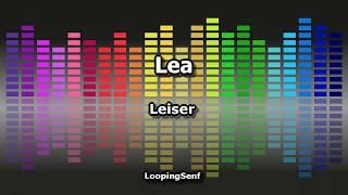 LEA - Leiser - Karaoke