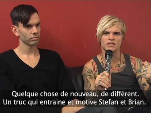 Placebo Interview 2009 (stef and steve)