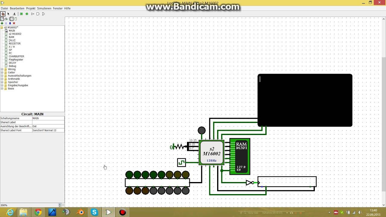 16 Bit Logisim Cpu Youtube 8 Alu Circuit Diagram